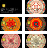 Credit card pack Royalty Free Stock Image