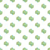 Credit card pattern, cartoon style Royalty Free Stock Photography