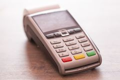 Credit card payment, buy and sell products & service close-up stock images