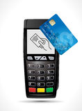 Credit card payment, buy and sell products & service Stock Image