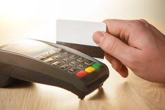 Credit card payment, buy and sell products or service Royalty Free Stock Images