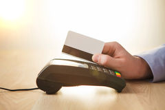 Credit card payment, buy and sell products or service Royalty Free Stock Photography