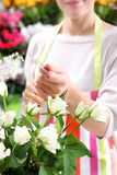 Credit card payment florist Royalty Free Stock Photography
