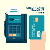 Credit Card Payment. Illustration of credit card payment graphic design Stock Images