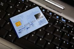 Credit card payment online Royalty Free Stock Photography