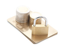 Credit card payment security Royalty Free Stock Image