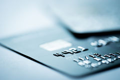 Credit card payment, shopping online. Lighting in studio Royalty Free Stock Image