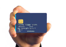 Credit card payment - white Royalty Free Stock Photography