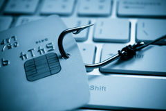 Credit card phishing Royalty Free Stock Photo