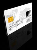 Credit card - Platinum Stock Image
