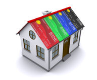 Credit Card Protection for your home Stock Photos