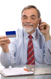 Credit card purchase Stock Images