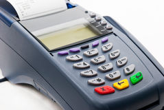 Credit card reader Royalty Free Stock Photography