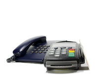Credit card reader Stock Image