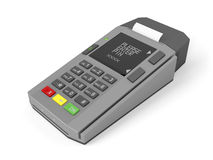 Credit card reader Stock Images