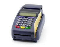 Credit card reader Stock Photos