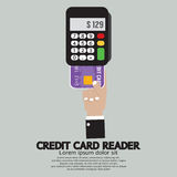 Credit Card Reader Royalty Free Stock Photos