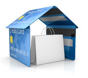 Credit card security Stock Image