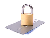 Credit card security Royalty Free Stock Photo