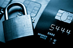 Credit card security Royalty Free Stock Images
