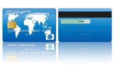 Credit card set Stock Photos