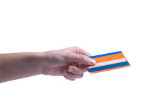 Credit card shopping Royalty Free Stock Image