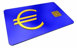 Credit card with symbol european union 1 Stock Photo