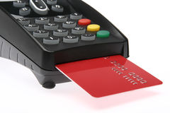 Credit card terminal 1 Stock Photography