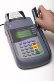 Credit card terminal Stock Photos