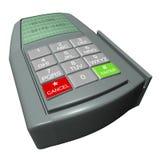 Credit Card Terminal Stock Photo