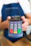 Credit card terminal Royalty Free Stock Photo