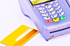 Credit Card Terminal Royalty Free Stock Photo