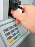 Credit card transaction Royalty Free Stock Image