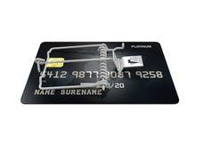 Credit Card Trap Royalty Free Stock Photos