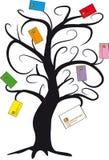 Credit card tree Stock Photos