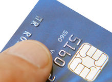Credit card user Stock Images