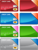 Credit Card Variety Stock Photo
