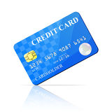 Credit Card. Vector illustration Royalty Free Stock Photo