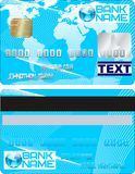 Credit card vector two Stock Photo