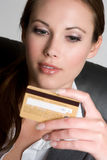 Credit Card Woman Royalty Free Stock Photo