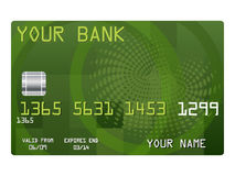 Credit card for your bank Stock Photo