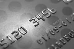 Credit Card1. Credit card with shallow depth of field royalty free stock image