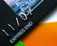 Credit Cards. Macro stock photography