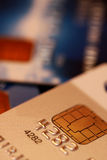 Credit cards. Close up of the credit cards Royalty Free Stock Images