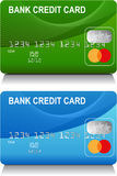 Credit Cards. An image of a set of generic Credit Cards Stock Photography