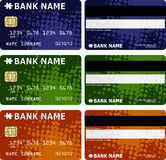 Credit cards. Design -  illustration Royalty Free Stock Image