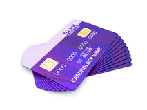 Credit cards Stock Images