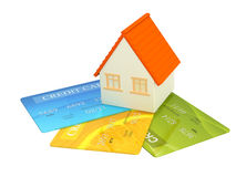 Credit cards Royalty Free Stock Photo