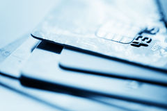 Credit cards. Business finance photo Stock Photo
