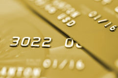 Credit cards. Royalty Free Stock Images